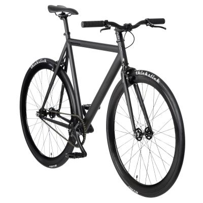 "bonvelo Blizz ""Back to Black"" Singlespeed Fahrrad Schwarz (Black/Black)"